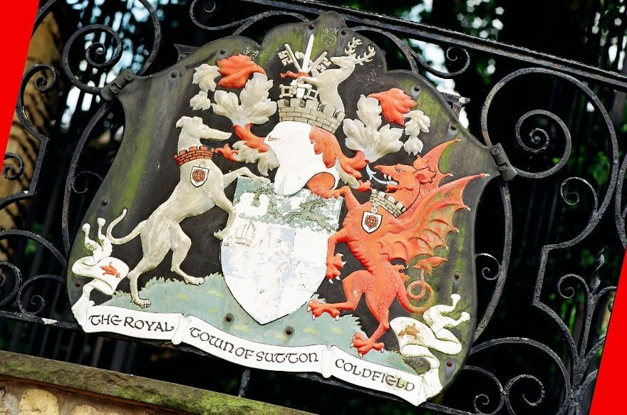 a picture of  the Sutton Coldfield royal crest